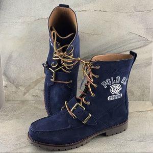 Polo Ralph Lauren Ranger Tiger Suede Boots NWOB